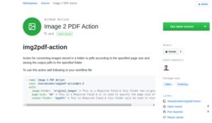 Image 2 PDF Action