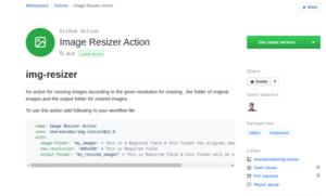 Image Resizer Action